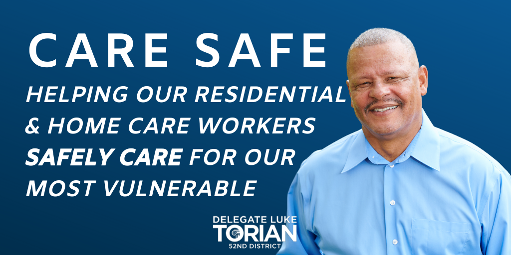 Our Care Safe initiative is about protecting Virginia's care workers from COVID-19 so that they can safely care for our most vulnerable Virginians.